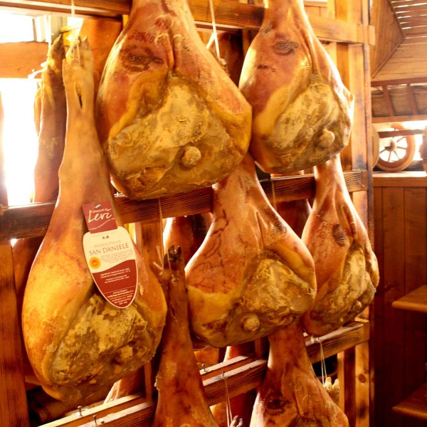 San Daniele del Friuli in italy is all about the ham