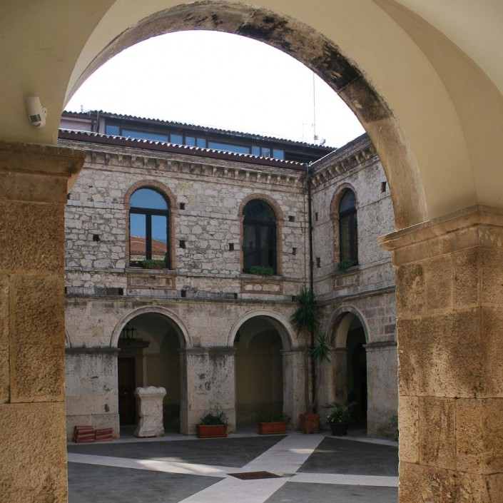 archaeological layers of Isernia