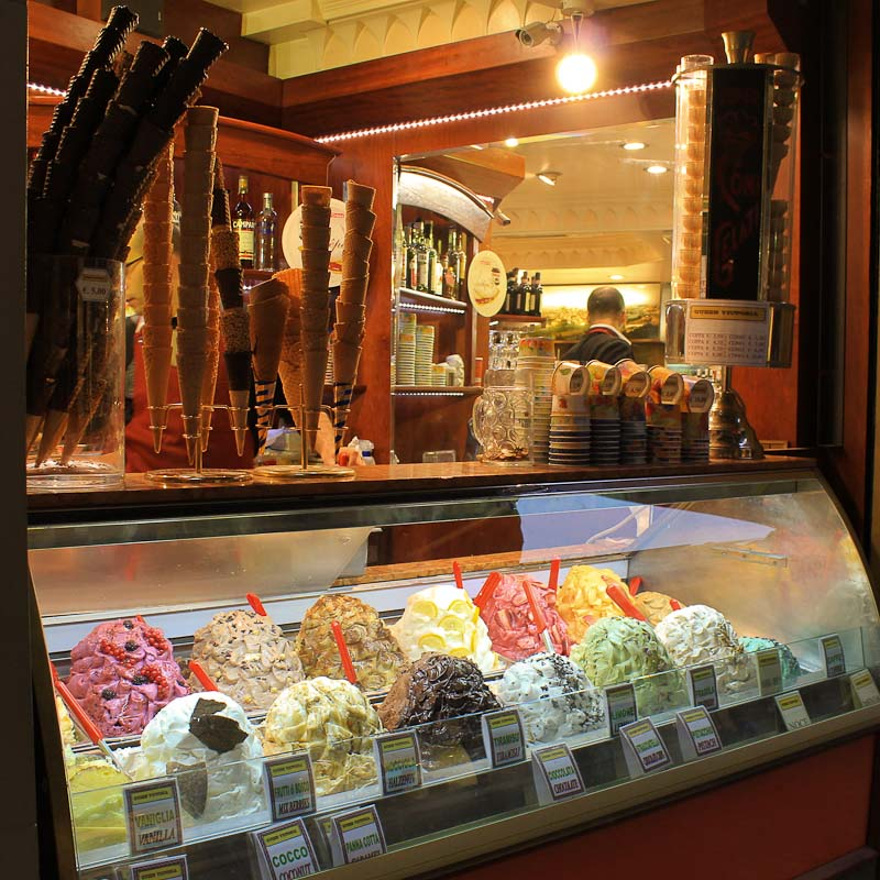 Best ice creams in Rome