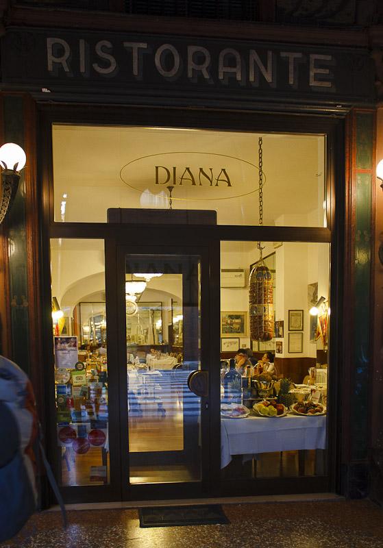 at Ristorante Diana in Bologna