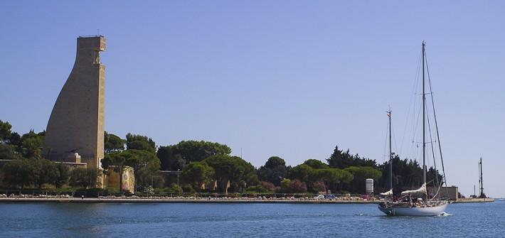 Italian Sailor Monument in Brindisi