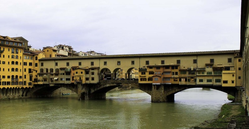 Jewellers on Ponte Vecchio