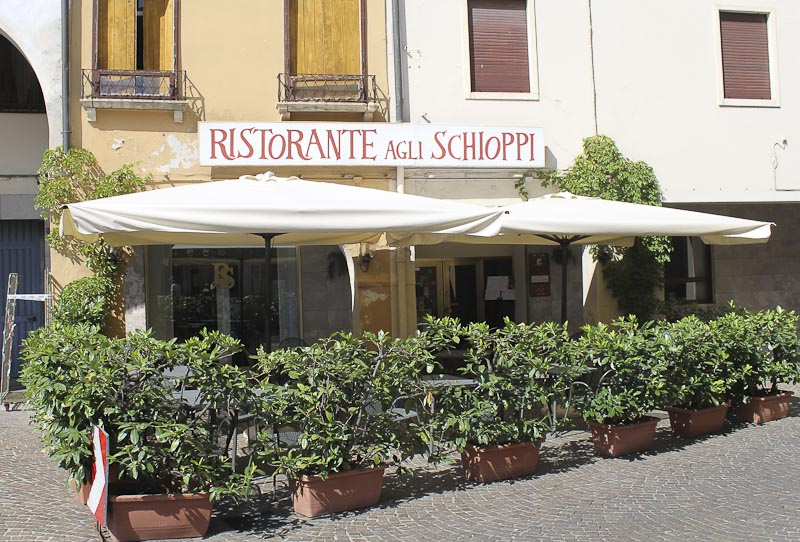 Eating out at Ristorante Agli Schioppi in Vicenza
