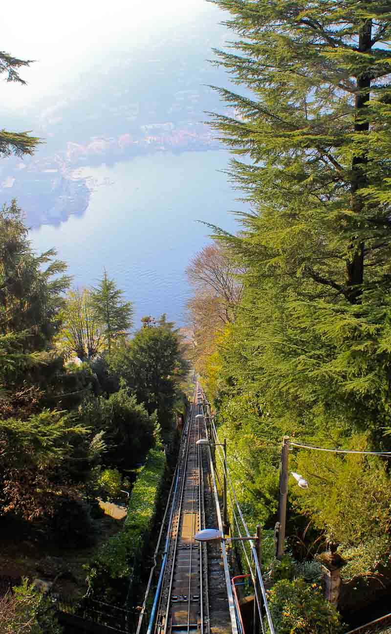 Funicular from Como to Brunate