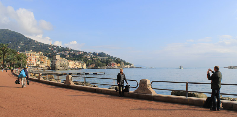 Rapallo in Liguria