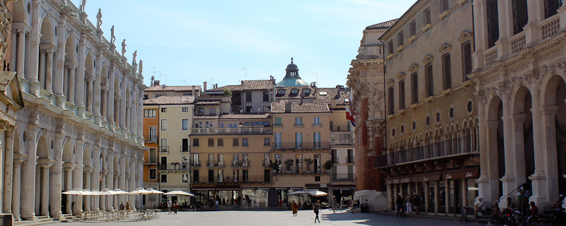 Photo from Piazza dei Signori in Vicenza