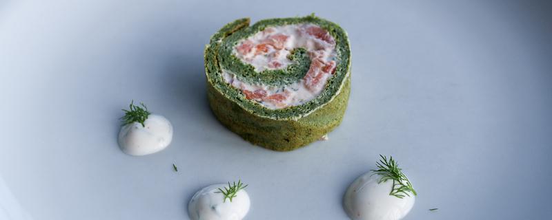 Image of Smoked Salmon Roll