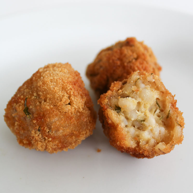 Photo of Pearl Barley Croquettes