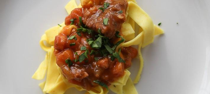 Photo of spaghetti all'amatriciana