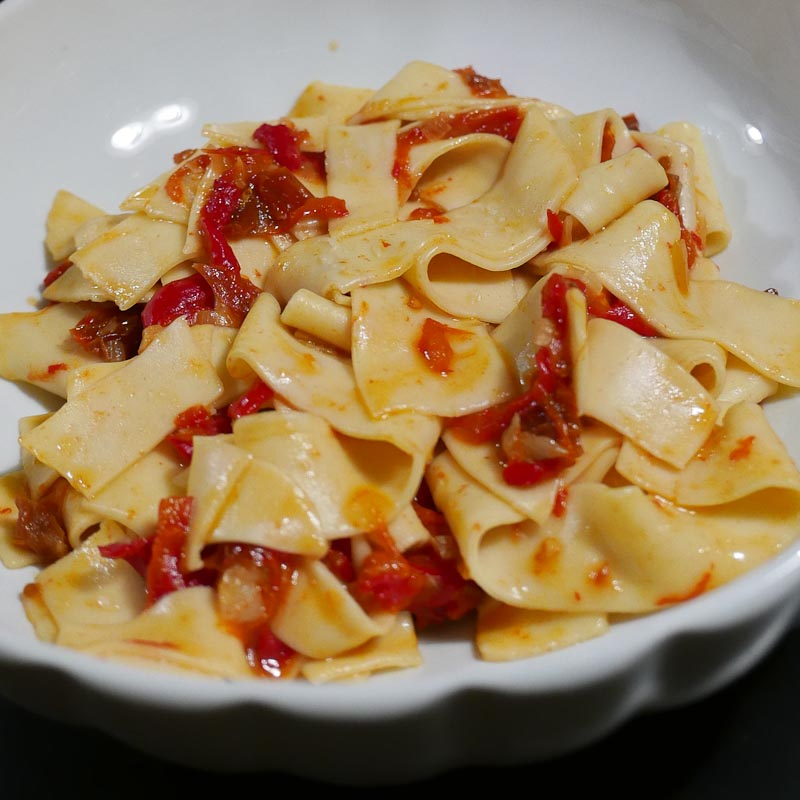 Photo of Sagne Pasta in Tomato Sauce