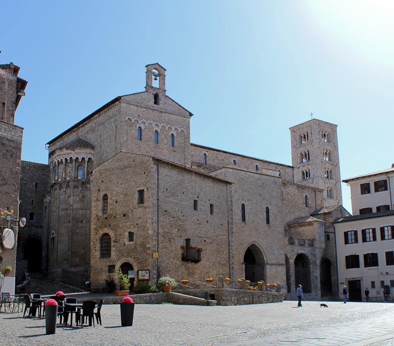 Photo of the Cathedral of Anagni