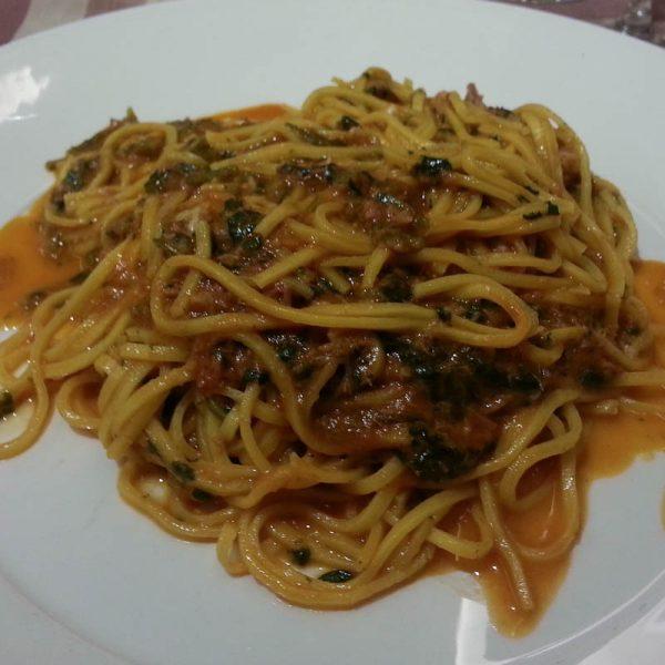 Photo of pasta dish at Lo Schiaffo Restaurant in Anagni