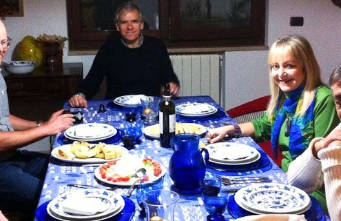 Photo of diners at my Italian friends
