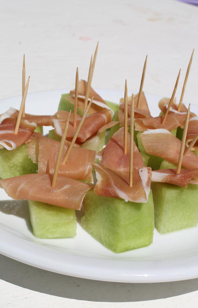 Photo of Cured Ham and Melon