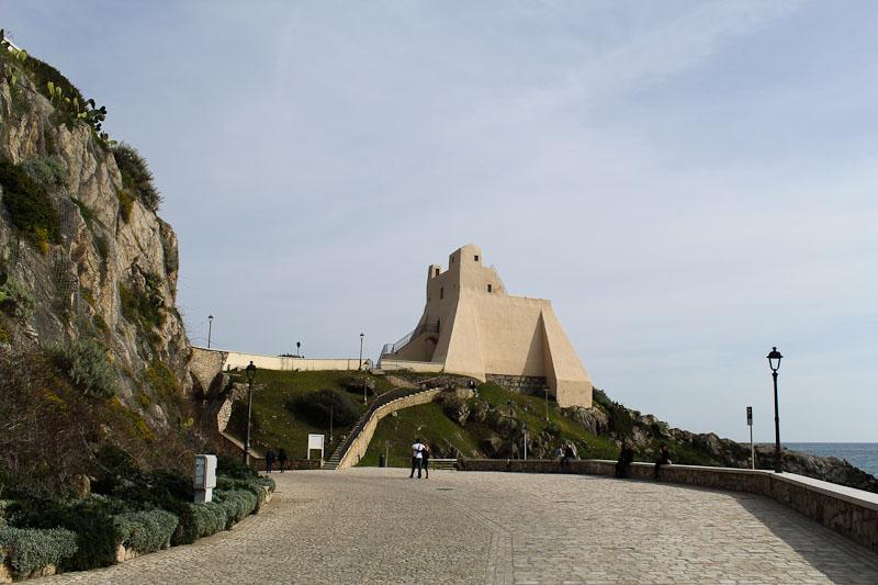 The watchtower in Sperlonga