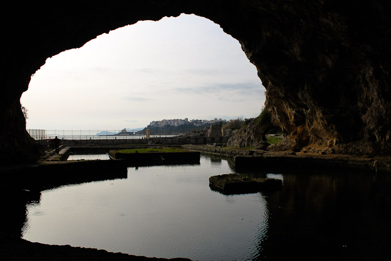 A visit to the grotto is a must do in Sperlonga