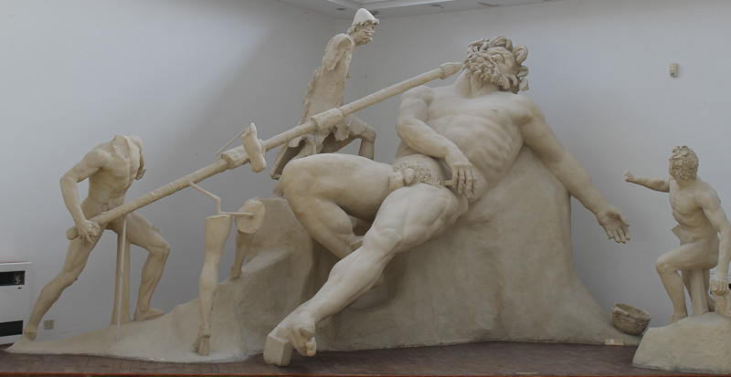 The archaeological museum is a must see in Sperlonga