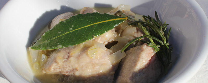 Photo of Veal Cubes in Rosemary Sauce