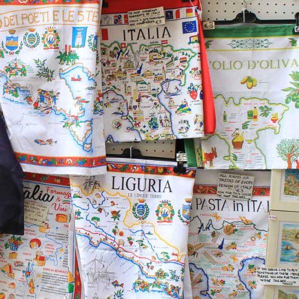 Souvenirs from Manarola in Cinque Terre