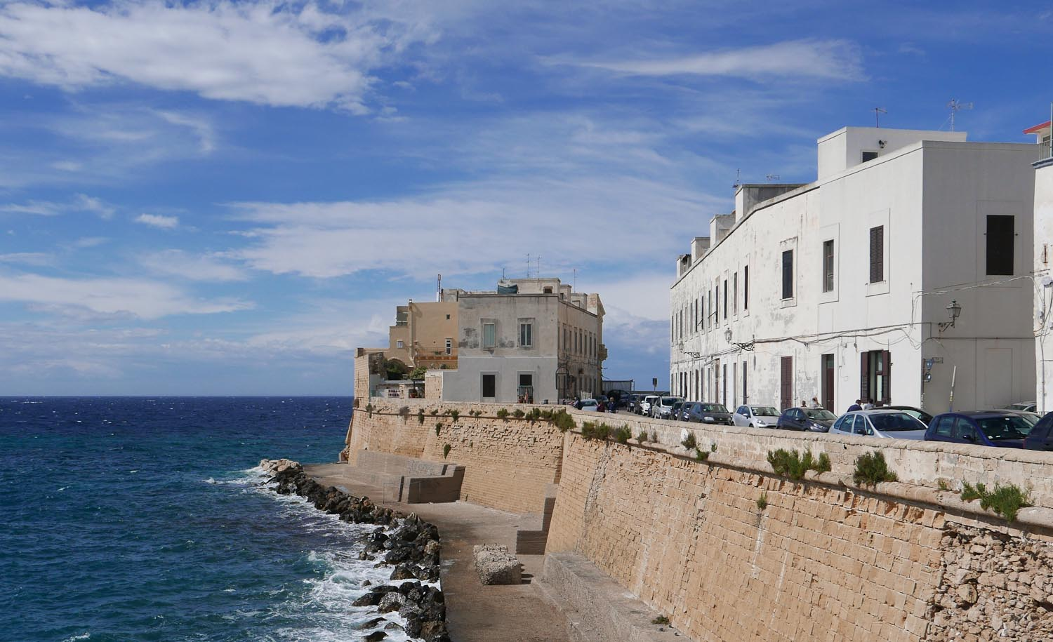 The old town in Gallipoli, Puglia