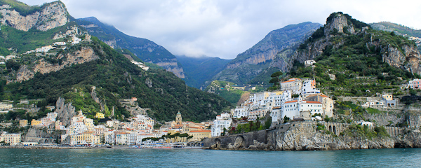 Cruise along the Amalfi Coast