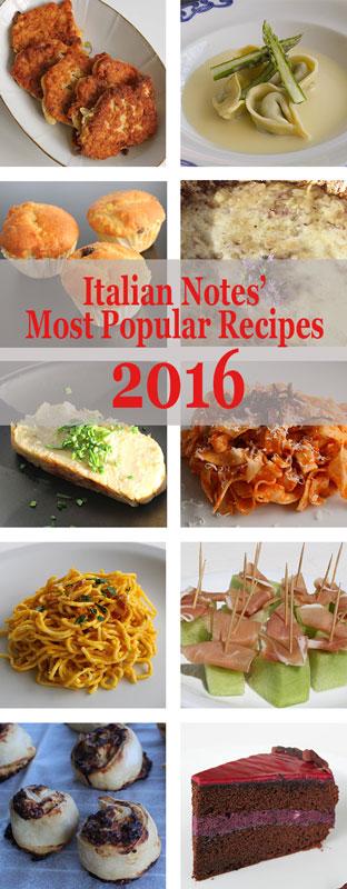 The most popular recipes 2016
