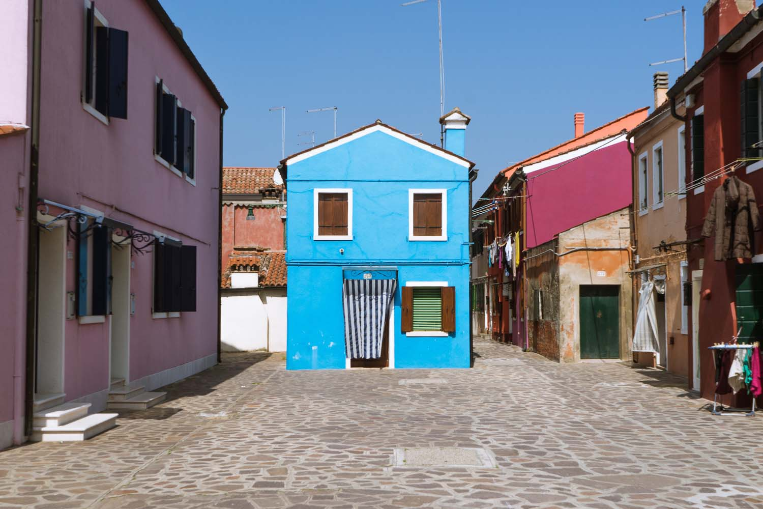 #SavingVenice guide to the best photo spots in Venice - Burano