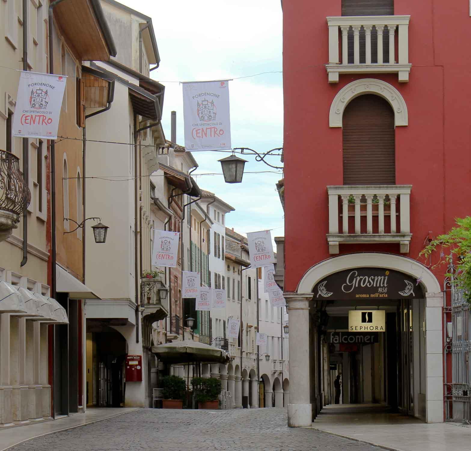 Corso Vittorio Emanuele in Pordenone