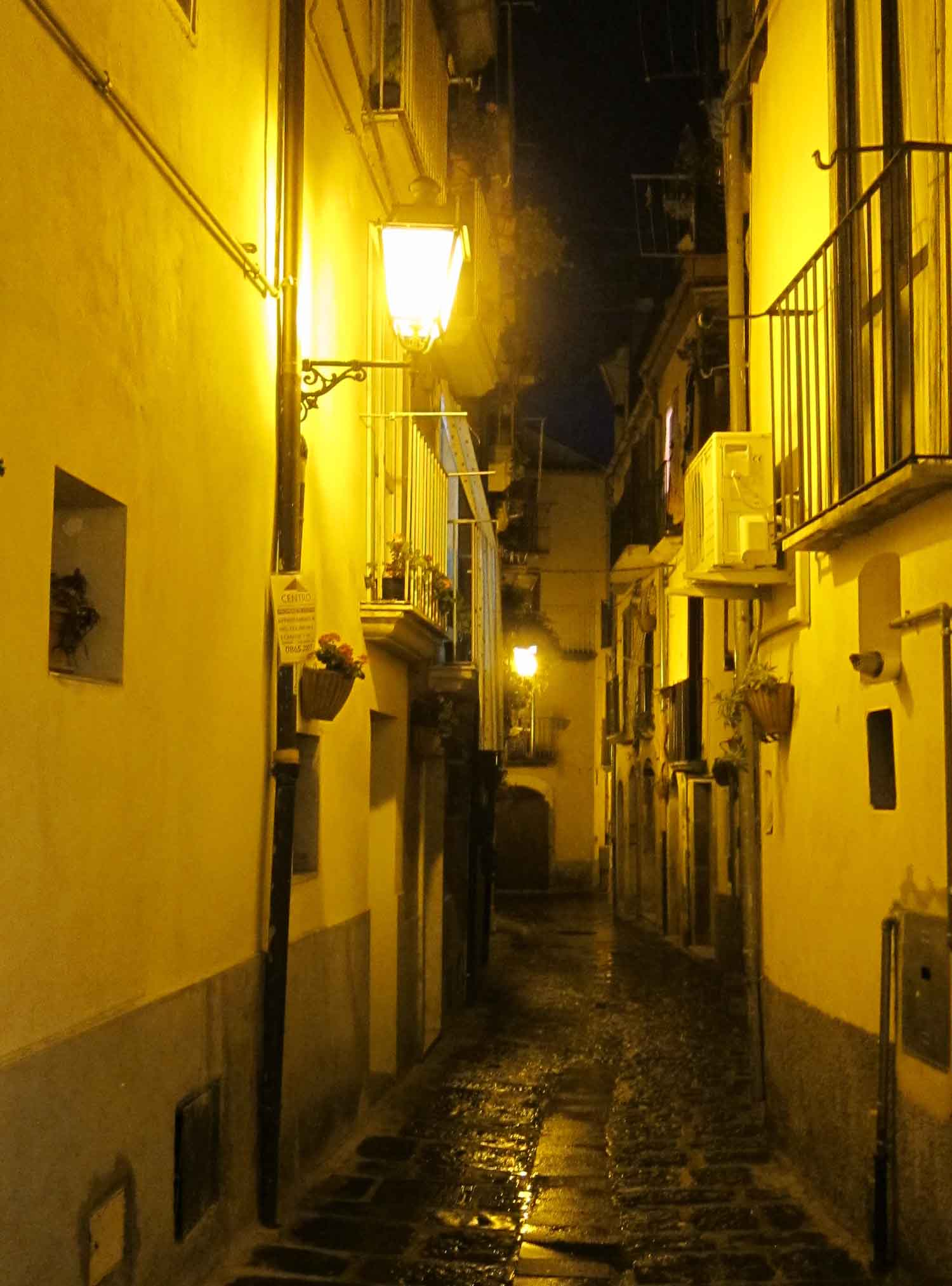 The streets of Isernia