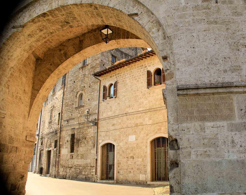 Medieval Gateway Ascoli Piceno