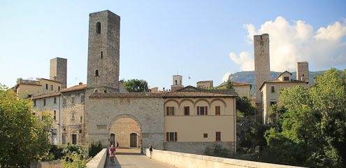 Via Porta Toricella and the Ghost of Ascoli Piceno