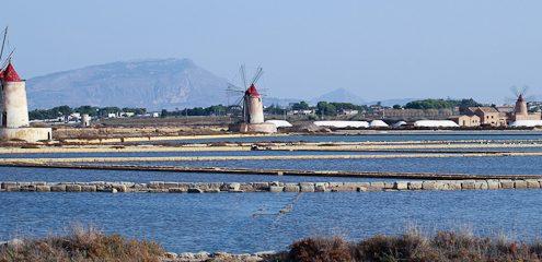 Sicilian Salt Mills