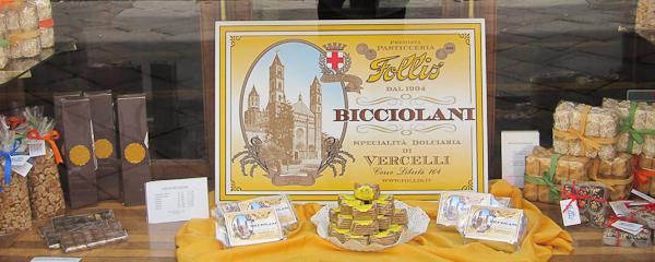 Bicciolani Souvenirs from Vercelli