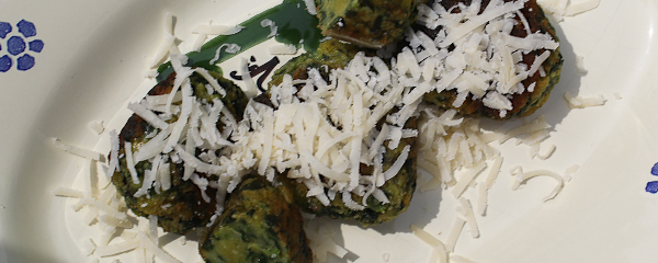 Fried Spinach Canederli