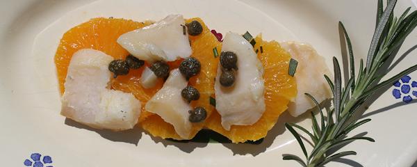 Salt Cod Orange Salad