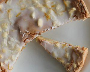 Sardinian almond cake