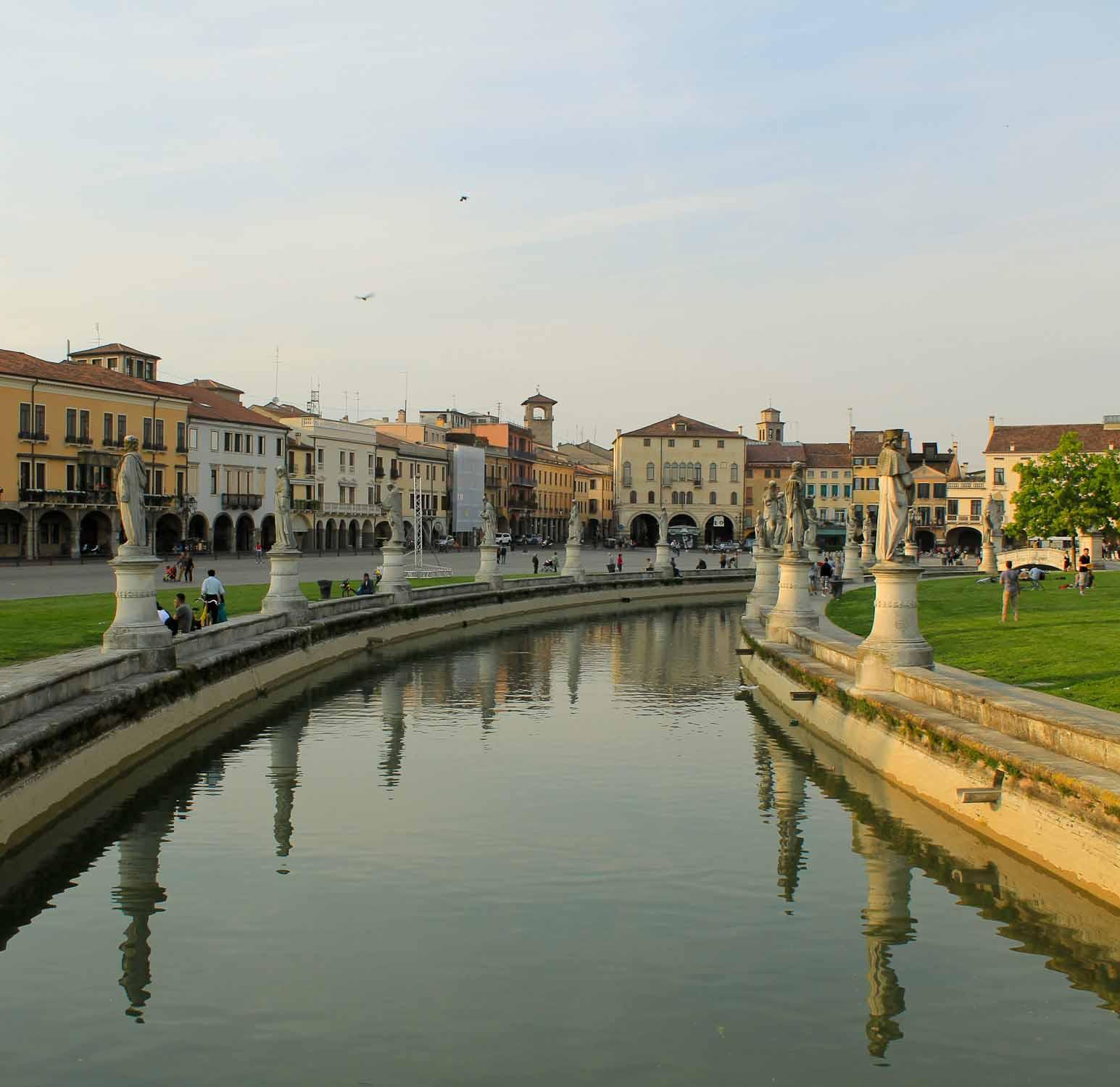 Prato della Valle in Padua
