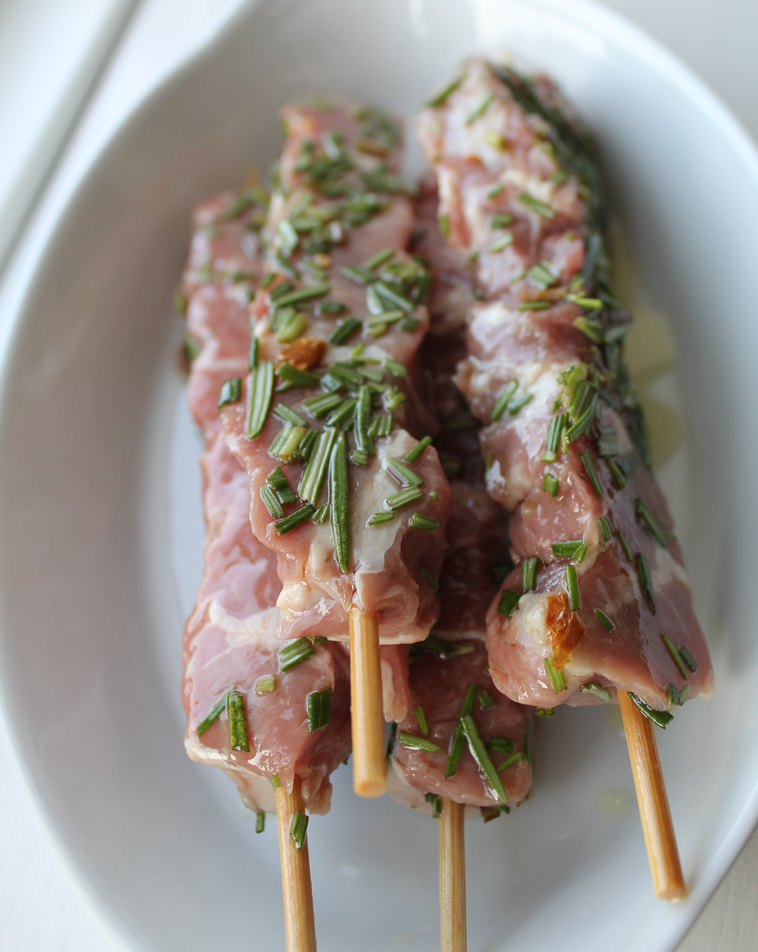 lamb skewers from Abruzzo - Italian Notes