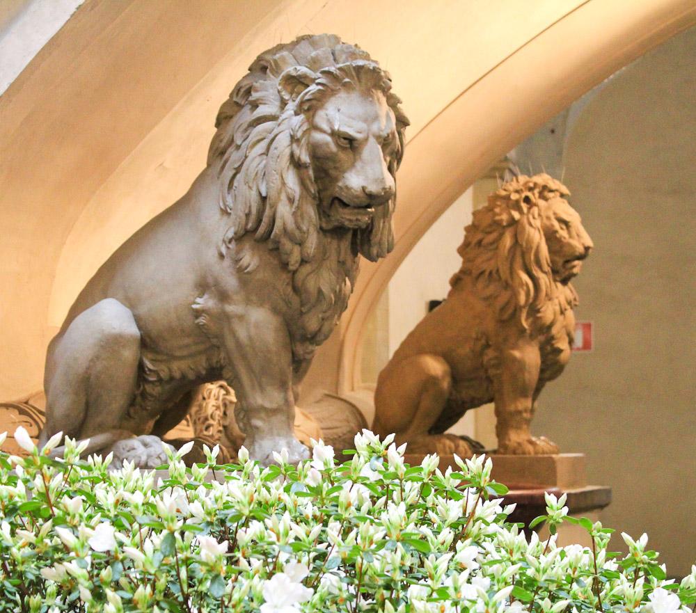 Marzocco Lion - Italian Notes