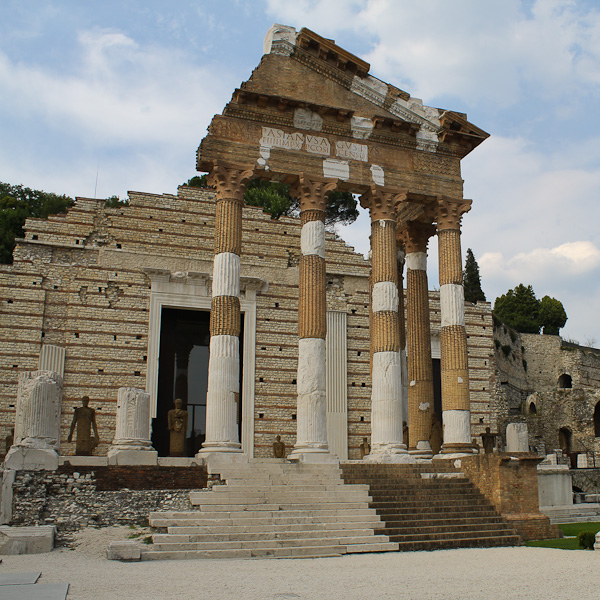 Things to See in Brescia Roman forum - Italian Notes