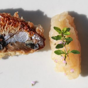Caramelised Mackerel - Italian Notes