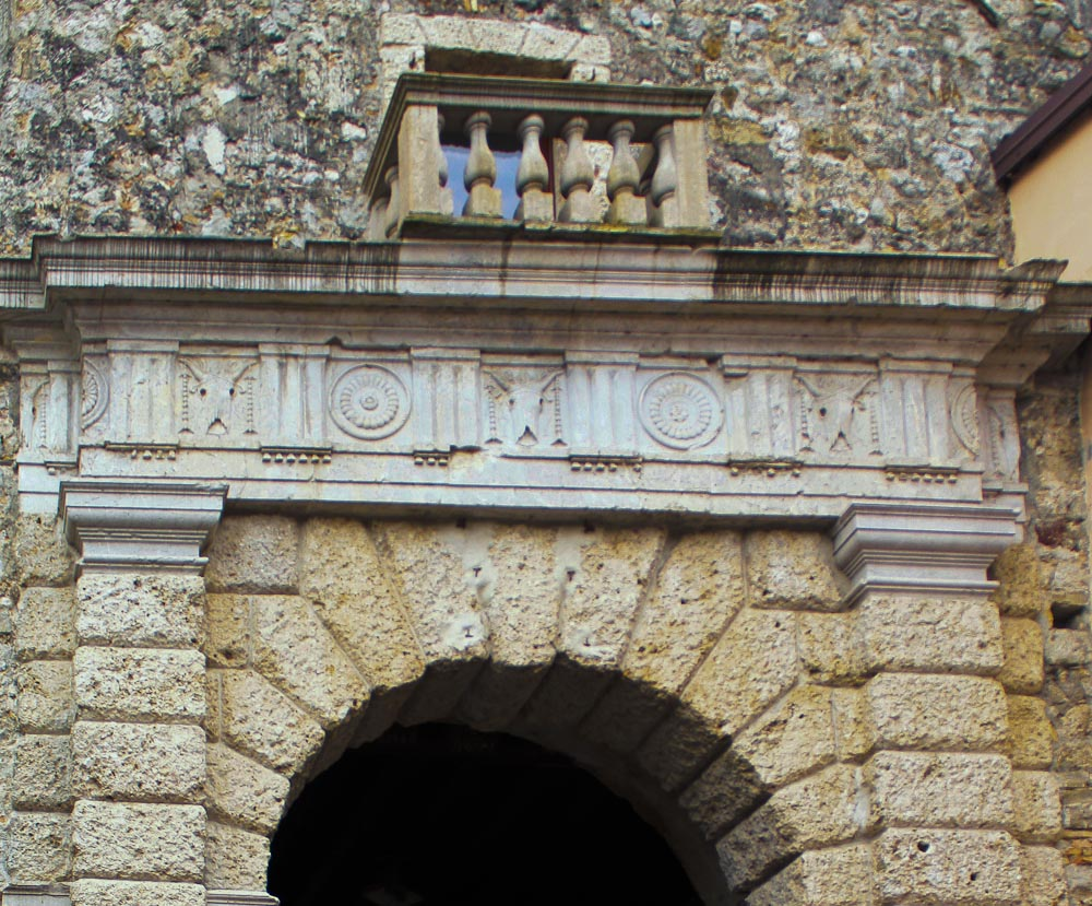 Cow Skulls in Palladio Arches - Italian Notes