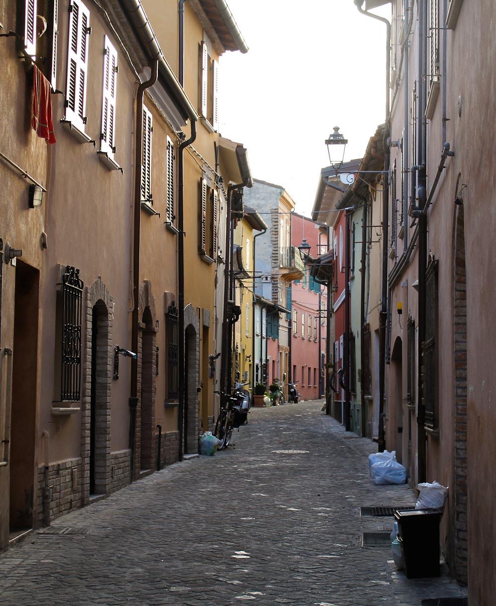 Piattelletti neighbourhood in Fano in Le Marche -Italian Notes