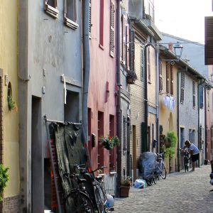 Piattelletti neighbourhood in Fano in Le Marche -Italian Notes
