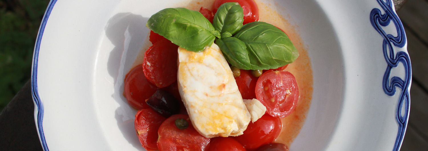 Monkfish with Tomatoes and Olives - Italian Notes