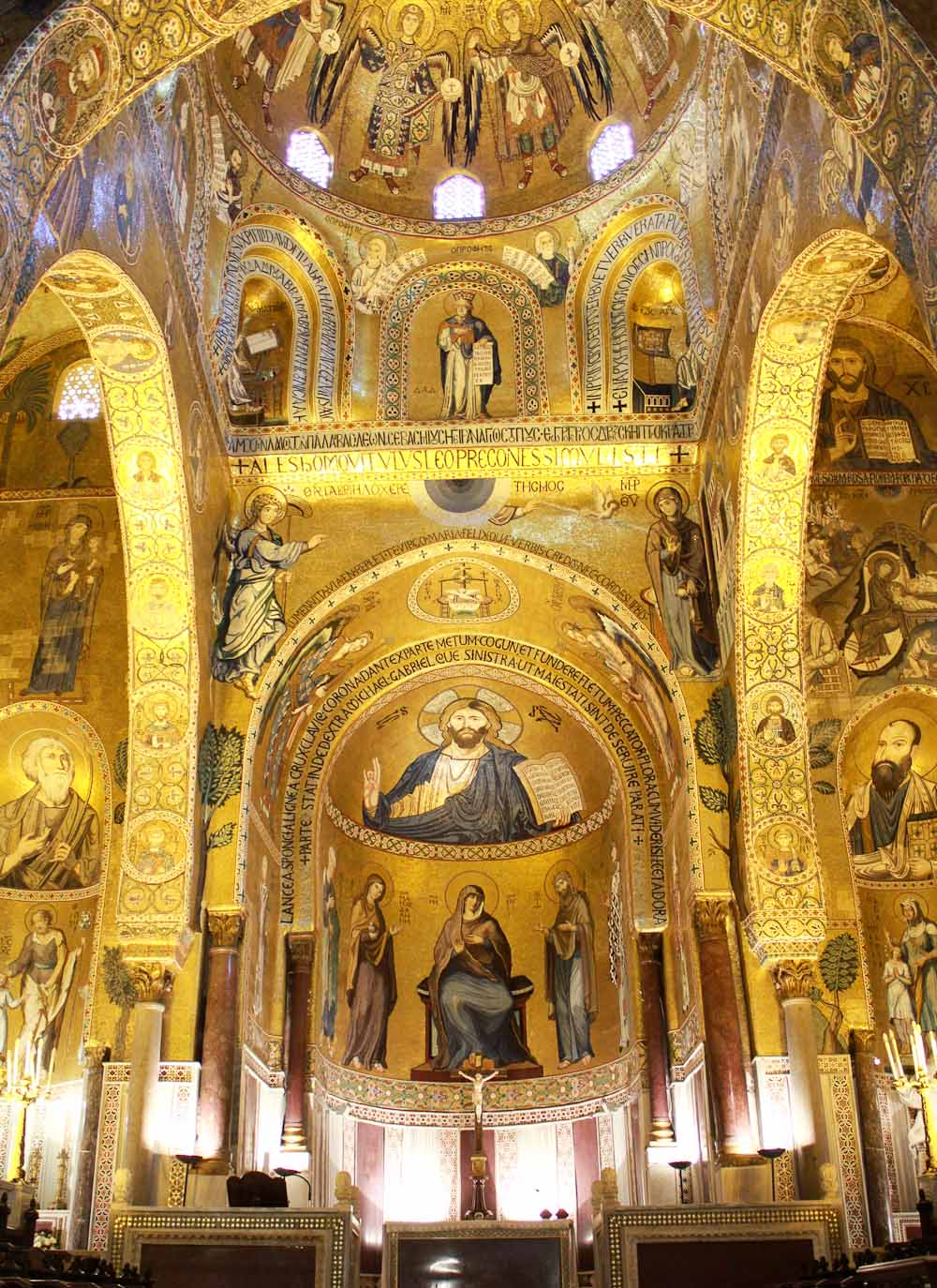 Cappella Palatina in Palermo - Italian Notes