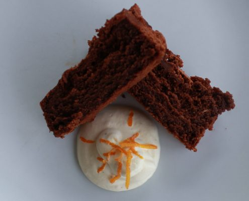 Moist chocolate orange cake - Italian Notes