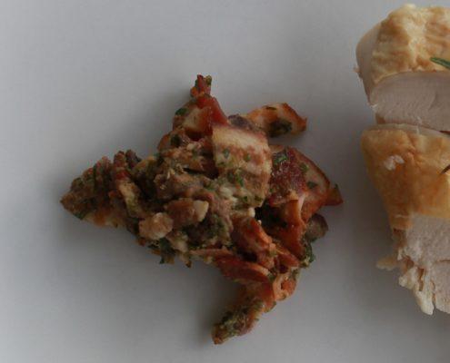 Stuffed chicken from Basilicata - Italian Notes