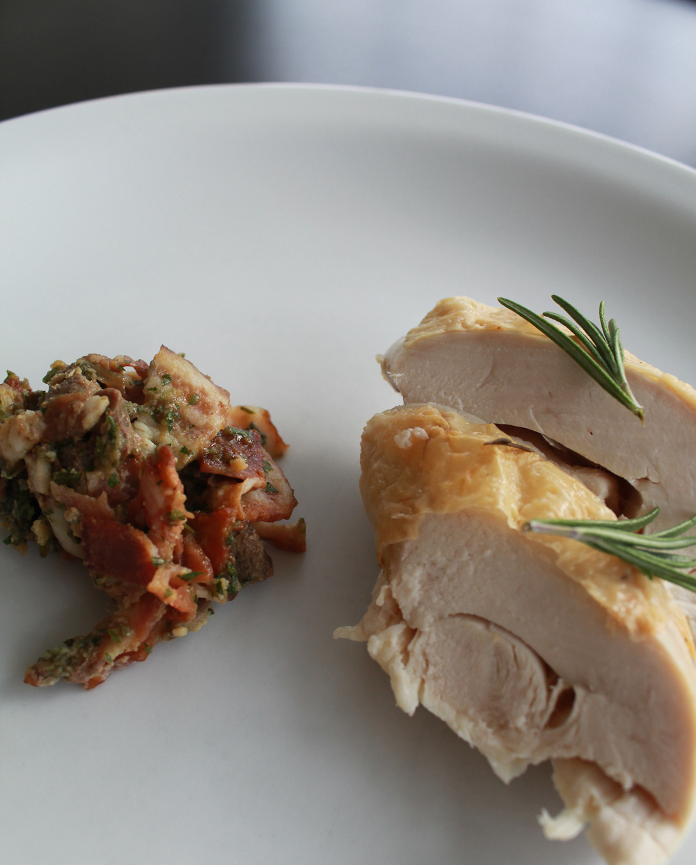 Stuffed chicken from Basilicata - Italian Notes