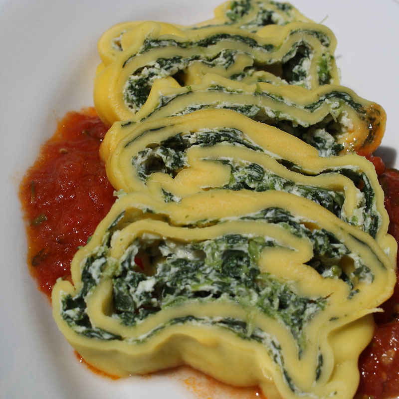 SPinach pasta roll Top Recipes 2017 - Italian Notes